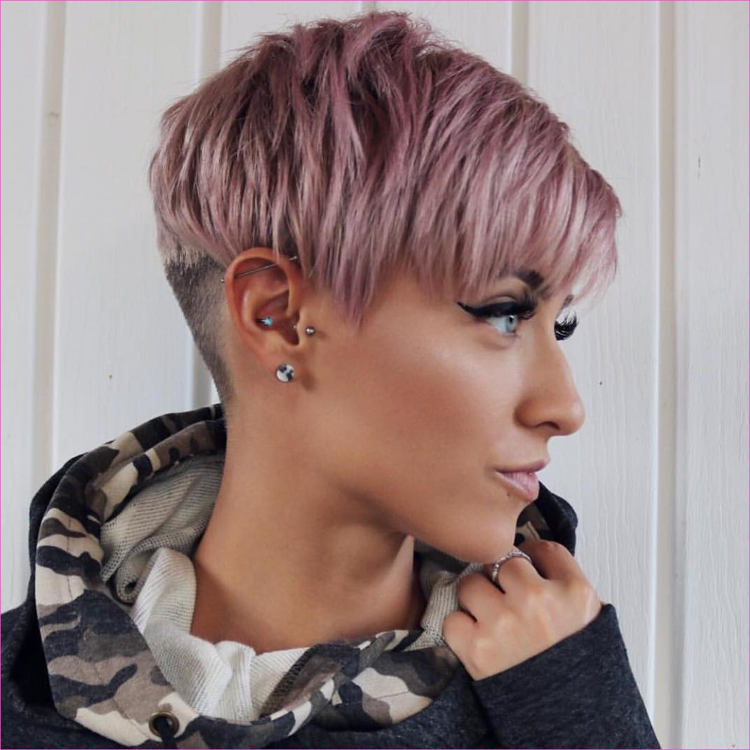 10 Trendy Very Short Haircuts for Female, Cool Short Hair Styles 2019