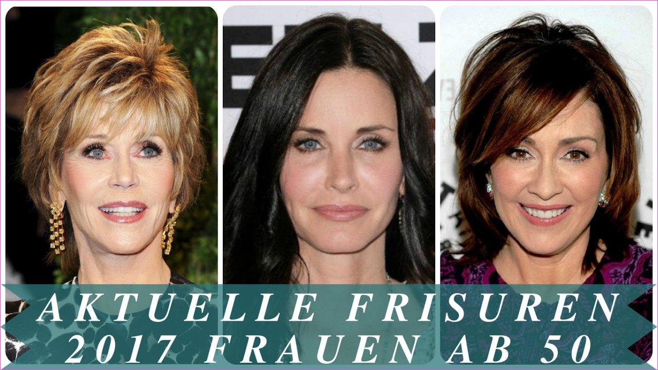 Aktuelle frisuren 2017 frauen ab 50 - YouTube