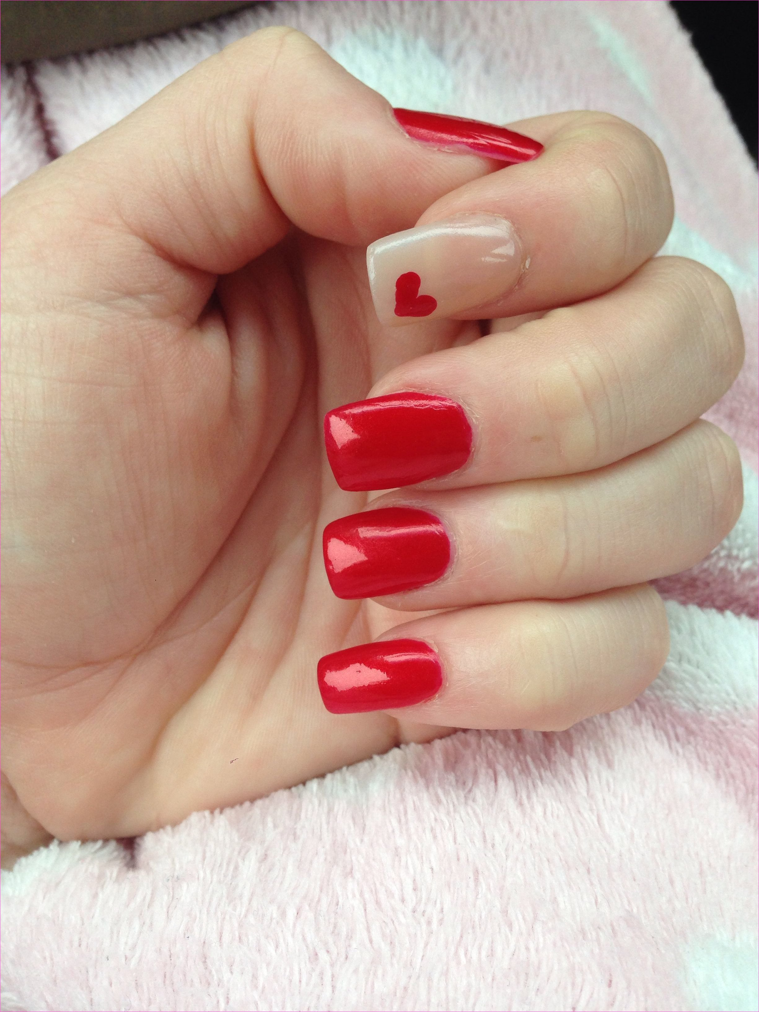 My sweetheart nails | nail designs | Pinterest