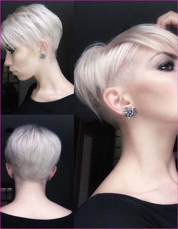 Stylish Blonde Pixie Haircut Styles for Women in 2019 | Stylezco