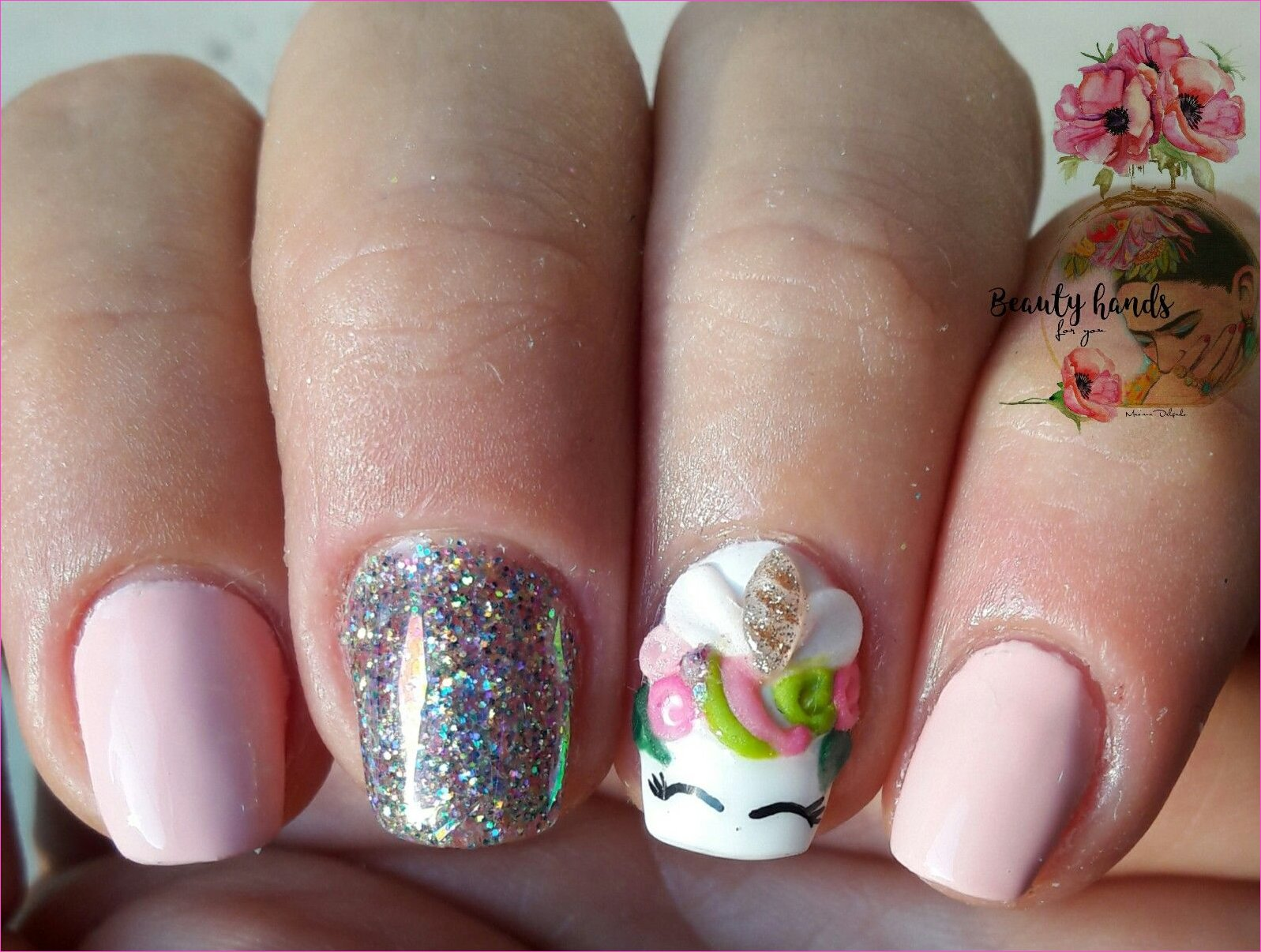 Uñas de unicornio | uñas | Unicorn nails, Nails y Unicorn