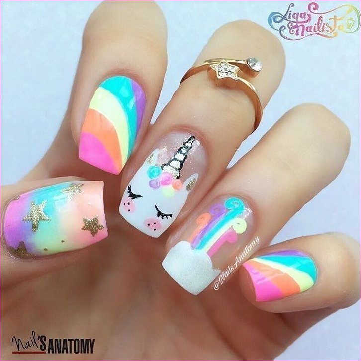 Unicorn nails!!!! | Nails | Pinterest | Nail arts, Nails and Unicorn ...