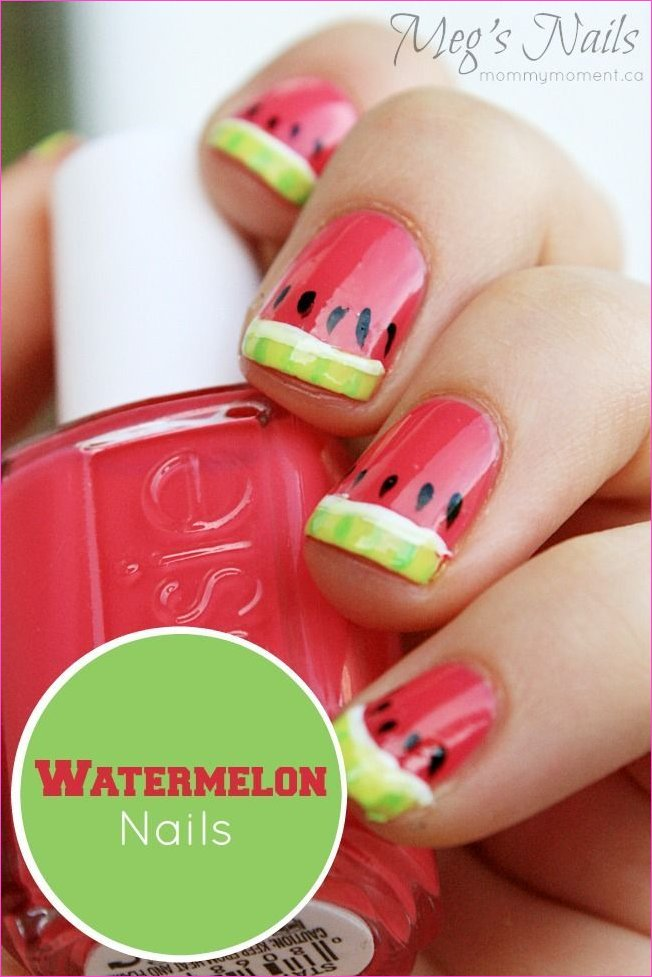Watermelon Nail Art | Beauty is Necessary | Pinterest | Watermelon ...
