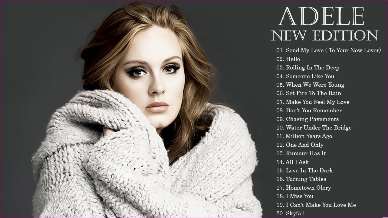 Adele Greatest Hits NEW EDITION 2018 - Best Songs Of Adele