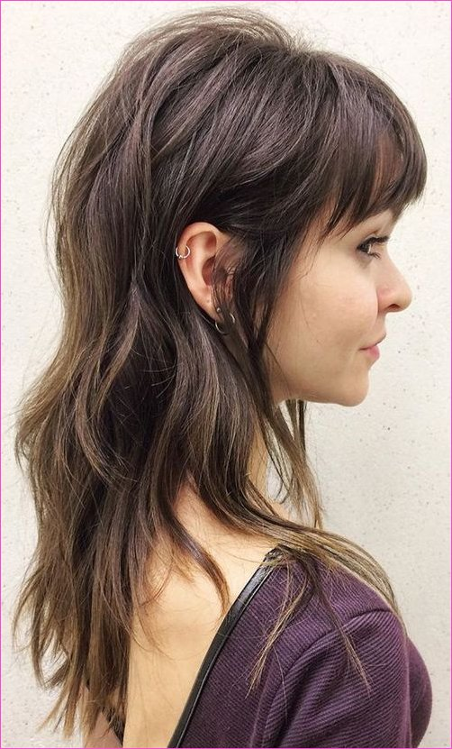 Devastatingly Cool Full Fringe Long Hairstyles for Women to Show Off ...