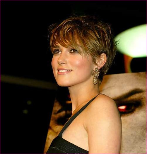 Excellent Keira Knightley Pixie Cut