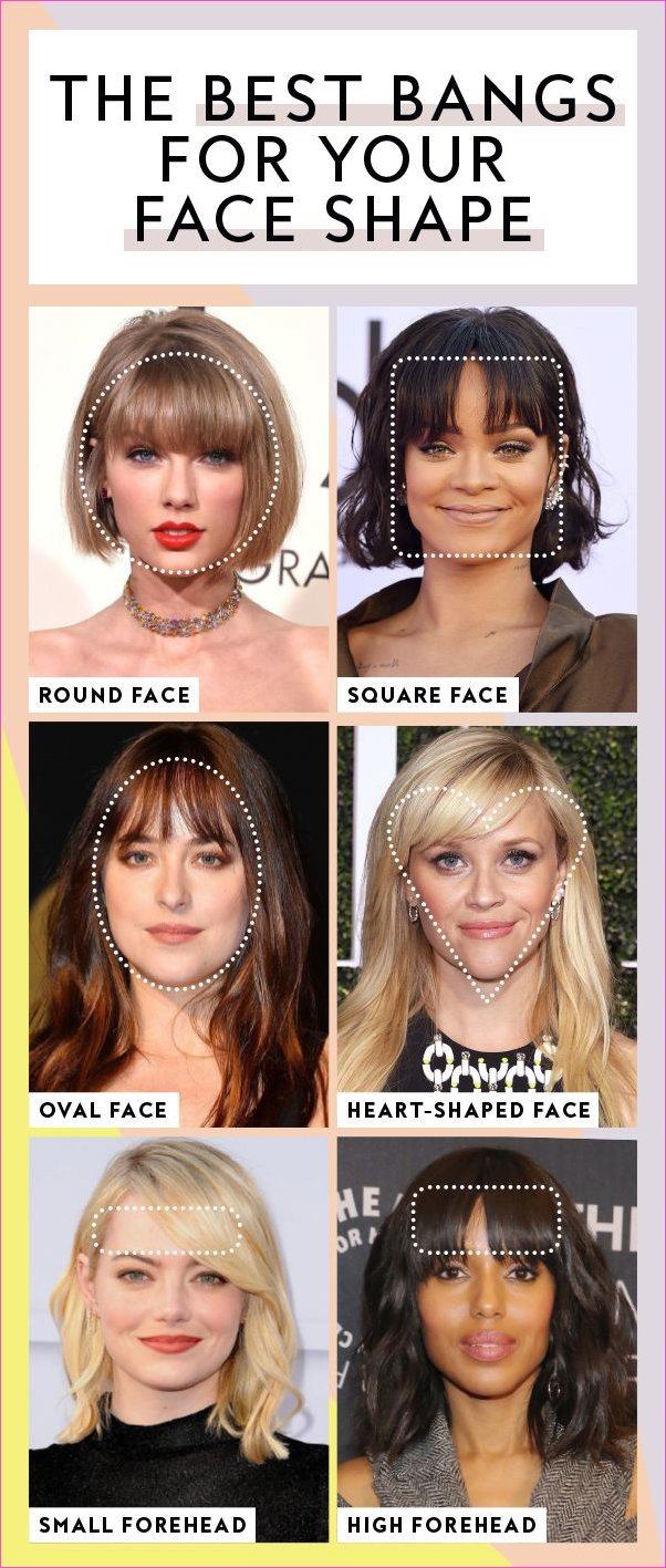 These Are the Best Bangs for Every Face Shape, According to Stylists ...