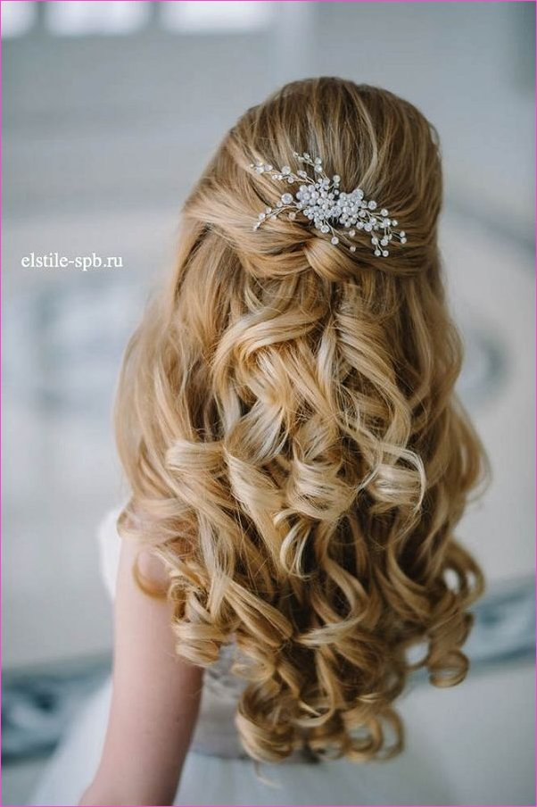 20 Creative Half Up Half Down Wedding Hairstyles | Langhaar Frisur