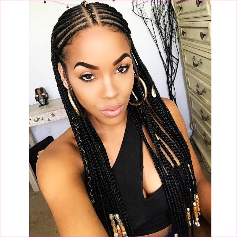 25 best black braided hairstyles to copy in 2018 stayglam Braids For