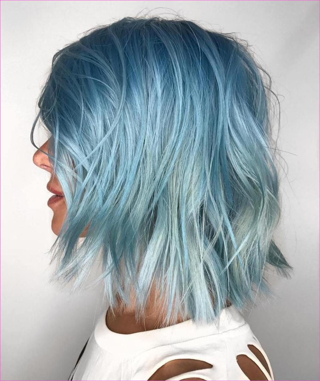 30 Icy Light Blue Hair Color Ideas for Girls in 2019 | Trends