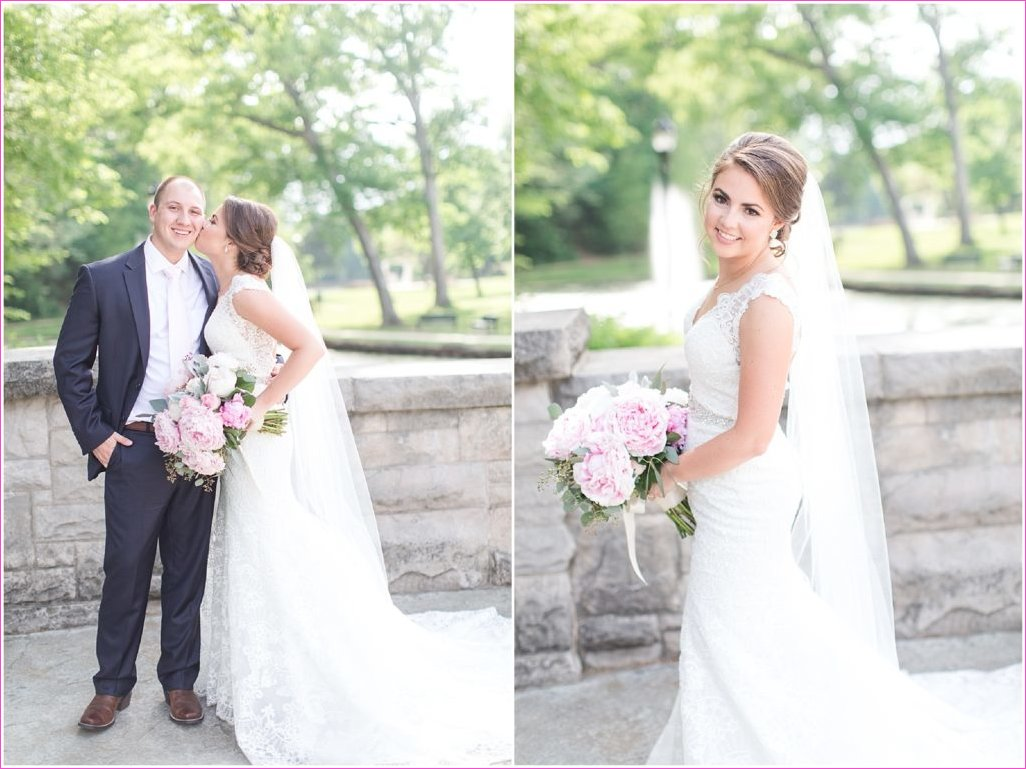 A Romantic, Vintage Spring Wedding at the Artisans Building