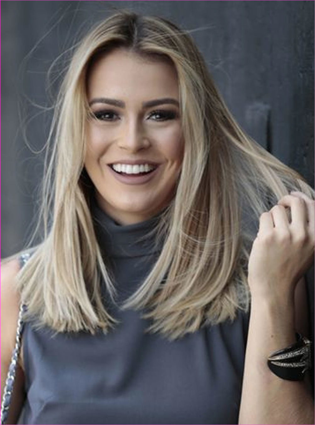 Medium Length Haircut Images and Hair Color Ideas for Medium Hair
