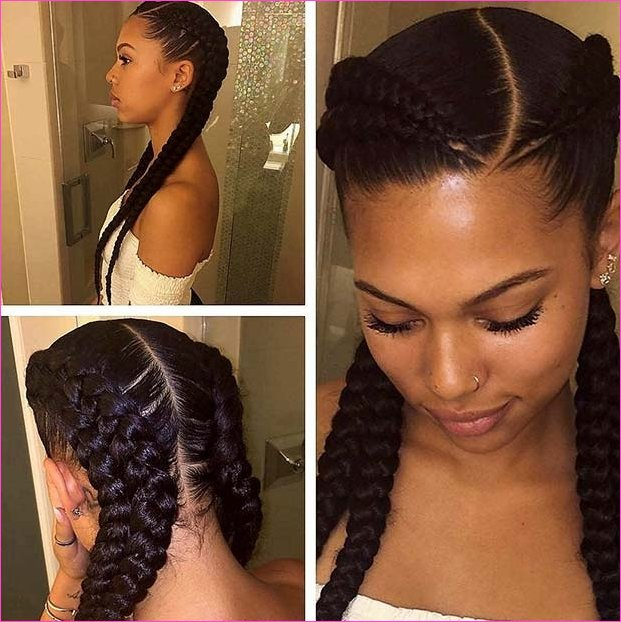 Unique Black Braided Hairstyles 2018 Ideas | Contemporary Hairstyles