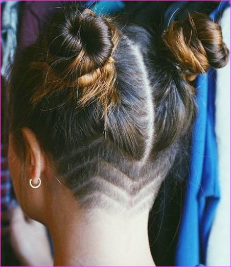 back of head shaved hairstyles - Hairstyles By Unixcode