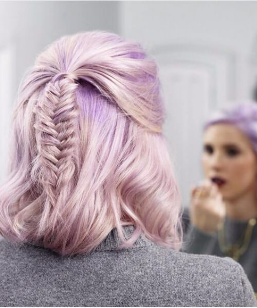 23 Pastel Medium Length Frisuren