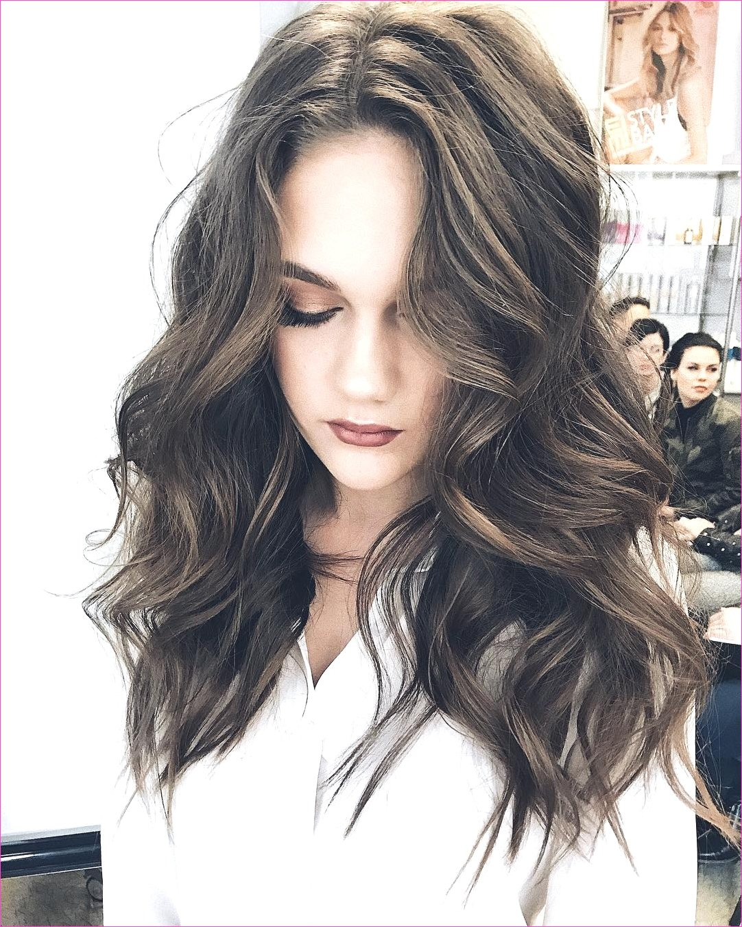 Fashion : Wavy Hairstyles For Long Hair Delectable Blonde Woman With ...