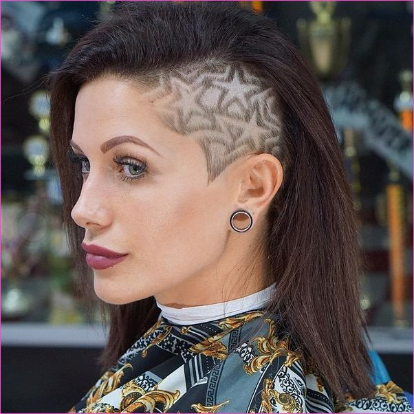 Frauen Undercut-Frisuren 31